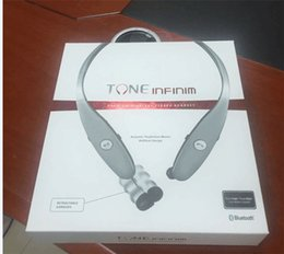 Wholesale Apple Brand Logo - Stereo Wireless Headsets Tone Ultra Bluetooth Headphones HBS900 HBS-900 Earphone Handsfree In-ear Without LOGO With Hard Box PK HBS800 S530