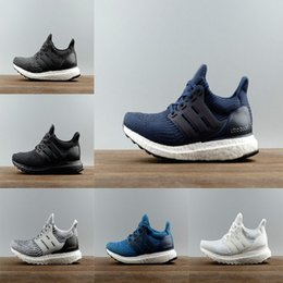 Wholesale New Fabric Collections - 2017 New All White Ultra boost 3.0 Sneakers Men Footwear Triple White Women Running Shoes Sports Shoes UB3.0 Collection