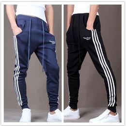 Wholesale Wholesale Pants For Men - Wholesale-Outdoors Cargo Loose Trousers Men Sweat Harem Joggers Pants Hip Hop Slim Fit Sweatpants for Dance s Pants DP850794