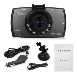 Wholesale Motion Detection Lights - 2.7 Inch HD Display Dash Cam Dashcam Camera Car DVR Novatek PZ906 G30 Motion Detection One-Key Lock Cycle Recording G-Sensor IR Lights