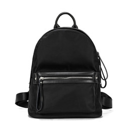Wholesale College Korean Backpack - 2017 new Korean college style Oxford cloth fashion shoulder bag travel multi-purpose backpack low-cost sale of Chinese-made