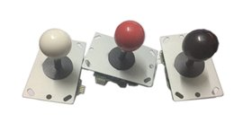 Wholesale arcade lights - Wholesale free shipping top Arcade Game Joystick, Colorful lights arcade joystick parts