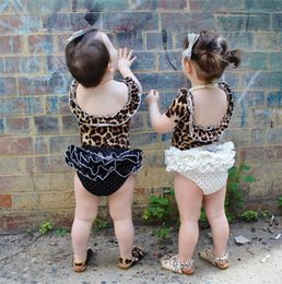 Wholesale Lace Infant Bloomers - Infant Baby Girls Lace Dots Pants Toddler Princess Bloomers 2017 Babies Cute PP Short Pants Children's Spring Summer clothing