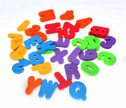 Wholesale Learning Numbers - Wholesale- 36pcs Set Kids Bath Tub Foam Letters Numbers Children Play Toys Child Learning Educational Toy