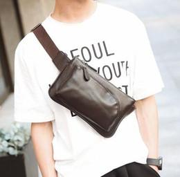 Wholesale Han Bags - Men's wallets, oblique cross package small ku phone han edition Single shoulder bag bag male the new backpack