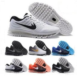 Wholesale Newest Sneakers Cheap - Cheap maxs 2017 Men WOMEN running shoes Hot selling Original quality maxes 2017 KPU cushion sneaker for mens Newest release sneaker 36-45