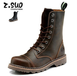 Wholesale Motorcycle Men S Boots - Men 's fashion boots British Martin boots high leather shoes to help tide shoes free shipping