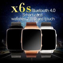 Wholesale Wholesale Sale Smart Watch - Smart Watch X6s 1.54''IPS 240*240 2.5D ARC TP Support SIM Card 450MAH 128M+64M Support 32GB TF Card Hot sale