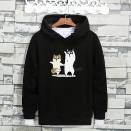 Wholesale Mens Hoddies - Mens Hoodies 2017 New Winter Pullovers Leisure 8 Colors Fashion Sweatshirts Hooded Coats Hoddies Sweat Homme