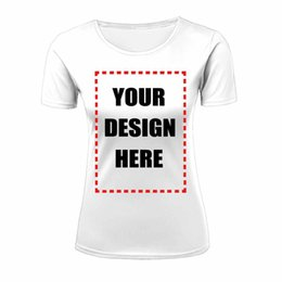 Wholesale Cheap Womens T Shirts - Wholesale Womens T-Shirt Short Sleeve Cheap Custom 3D text font image coloring Customize All-over Front Back Print Plus Size XS-XXL Top Tee