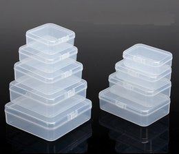 d chip Coupons - Transparent Storage Boxes Chip Placed Plastic Case Small Cale Thing Packing Box Made Of PP Material Handily Collections Container 2b Rc D