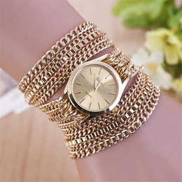 Argentina Reloj de pulsera de mujer reloj de cuarzo de moda Reloj de pulsera de cuarzo reloj de pulsera de mujer cheap ladies wrist chain watch Suministro