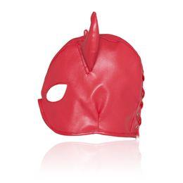 beste sex-spielzeug dildo Rabatt Sex Maske Männer und Frauen Tier Bondage Fetisch Maske Erotik Toys Sex Produkte für Paare