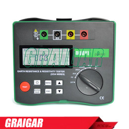 Wholesale Grinding Soil - Duoyi DY4300 4-Terminal Digital Ground Resistance Tester Soil Resistivity Tester 0.05-20.99K ohm 0.2-395.6K ohm*m