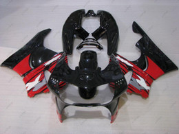 Wholesale Cbr 919 Fairings - ABS Fairing CBR 919 1998 Plastic Fairings CBR900 919 98 Black Red Body Kits CBR 919RR 1999 1998 - 1999
