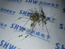Atacado-1000PCS 1 / 4W 220 ohm 220R 5% resistor de filme de carbono / 0.25W resistência do anel de cor de Fornecedores de resistências térmicas