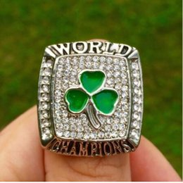 Wholesale Band Boston - 2017 supder deal Sales Promotion 2008 Boston Basketball Replica Championship Ring for Sport Fans