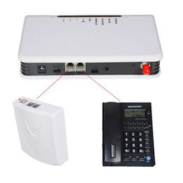 Wholesale Desktop Gsm Phones - 900MHz 1800MHz GSM fixed wireless terminal connect desktop phone to make phone call Wireless Terminal Gateway Alarm System use Sim Card