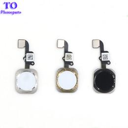 2019 buttons für iphone 10 STÜCKE NEUE Home Button Flex Flachbandkabel Montage Für iPhone 5 S 6 6 Plus 6 S Plus reparatur teil Kostenloser versand günstig buttons für iphone