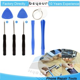 Wholesale Tools For Repairing Mobile Phones - For iPhone 4 4S 5 5s 6 6S Mobile Phone Cell Phone Reparing tools 8 in One Repair Kit Opening Tools Screwdriver