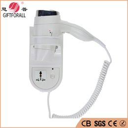 Wholesale Electricity Air - Wholesale- Safe Electricity Hair Dryer Wall Mounted Hair Dryer Secador De Cabelos Professional Hair Dryer