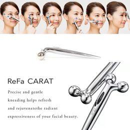 Wholesale roller s - ReFa CARAT platinum electronic roller Eyes massager microcurrent Eye Body Face Massage upgraded from ReFa S CARAT instrument DHL
