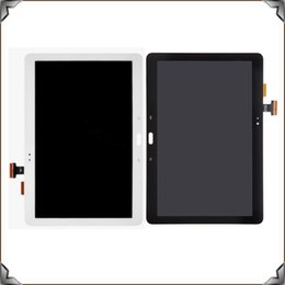 Wholesale Galaxy S4 Lcd Black - For Samsung Galaxy Note 10.1 SM- P600 P601 P605 New Black Full LCD Display Panel Screen + Digitizer Touch Sreen Glass Assembly