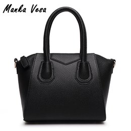 Wholesale New Arrived Handbags - Wholesale- Manka Vesa 2016 new arrived hot sale women's block decoration bag   give handbag hobos tote shoulder bag crossbody bags