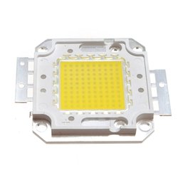 Wholesale Spot Lights Colors - 2017 New High Power 10W 20W 30W 50W 70W 80W 100W Super Bright COB Spot LED Lamp Chips Light Bulb White Warm White 2 Colors