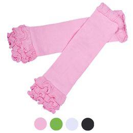 Wholesale Litter Fashion - Wholesale- 2016 New Fashion Litter Girls Candy Color Kneepad Socks Leg Warmer Winter Flowers Cute Lolita Sokken #OR