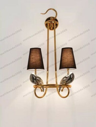 Wholesale Art Villages - NEW Wall Lamp American Village Bird Wall Lamp Living Room Bedroom Brief Creative Personalized Bedside Wall Light FREE SHIPPING MYY