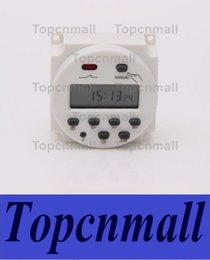 Wholesale Mini Timer Relays - New 12V 16A Time LCD Digital Power Programmable Timer AC Relay Switch 220v  12v 24v  110v