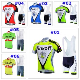 Wholesale Banks Suits - 2017 new SAXO BANK tinkoff Bisiklet team sport suit bike maillot ropa ciclismo cycling jersey Bicycle MTB bicicleta clothing set