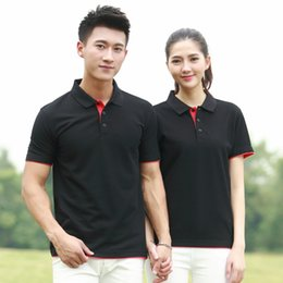 Wholesale Wholesale Wear Work Clothing - Customizable High quality T-shirt, Unisex, Work clothes, Supermarket Snack bar work wear Casual, solid colored short sleeve