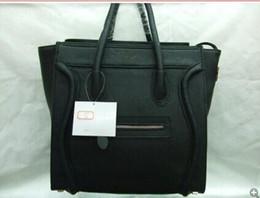 Wholesale Ladies Cowhide Bags - 2017 hot Famous designer Cowhide top quality women handbag Shoulder Bags lady Totes handbags composite bag