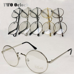 eccb066bc9f metallic frames Coupons - Wholesale- 2014 Vintage Metallic Circle Frame  Glasses Male Women Decoration Frames