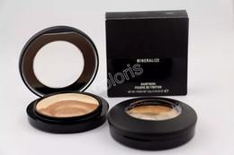 Wholesale Makeup Mineralize Skinfinish Face Powder - Extra Dimension Mineralize Skinfinish Powder Tricolor Overlay Makeup Face Powder Natural Bronze Powder 10pcs