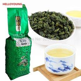 Wholesale Oolong Tea Flavor - C-WL038 Tieguanyin Oolong Tea 250g Chinese Tikuanyin Green Tea Anxi Tie Guan Yin Natural Organic Health Authentic Rhyme Flavor Green Tea