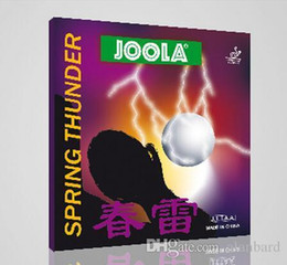 Wholesale Joola Table Tennis Rubbers - Low price Joola spring economics at loyola thurder Table Tennis Rubber SPRING THURDER pingpang rubber with sponge