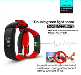Wholesale Blood Pressure Android - Fuster 2017 Newest Blood Pressure and Heart Rate Monitor Sport Fitness Smart Bracelet IP67 Waterproof Bluetooth Smart Band