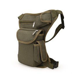 Wholesale Military Thigh Packs - Leg Bag Special Waist Packs Utility Thigh Pouch New Fashion Military Pack Weapons Tactics Outdoor Sport Ride Running Bags