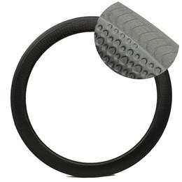Wholesale 58mm Road Bike - NEW Series dimple carbon rim rims hacking Knife braking surface style 58mm High TG carbon fiber moon surfce carbon rims