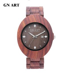 Wholesale Bowl Watch - GNART OEM Wood Watches Men bowl table Bamboo bowl table Gift table Fashion watches Casual watch Lovers watch Quartz watch