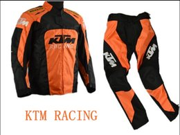Canada 2018 mode Nouveau ktm Racing Wear / Racing Sets vêtements hors route de la moto / vêtements de conduite / vêtements de cyclisme coupe-vent orange supplier orange clothing Offre