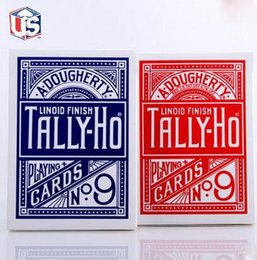 play card magic Promo Codes - Free Shipping 1 X TallyHo Deck TallyHo Viper Deck Playing Cards Standard Poker Magic Card Game Entertainment