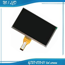 Wholesale Tft Lcd Screen Display Panel - Wholesale-New 7'' inch LCD Display Matrix Irbis TX69 TABLET BF757-070-01 WY070ML757CP21B TFT LCD Screen Panel replacement Free Shipping