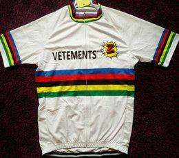8c14dd1ab 2017 Brand New Team world champ vetements cycling Jersey breathable cycling  jerseys Short sleeve summer quick dry cloth MTB Ropa Ciclismo G2