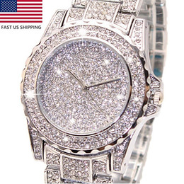 Wholesale Quartz Lady Luxury Watch Diamonds - 2015 Women Watches ladies Fashion Diamond Dress Watch High Quality Luxury Wristwatch Quartz Watch wristwatch hot sale