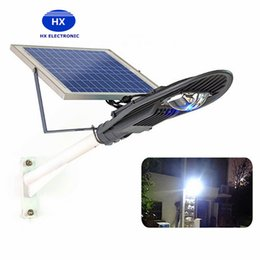 Wholesale Automatic Street Lights - High power 20W 30W Solar Powered led street lights LED Automatic Control Outdoor Flood Lights Solar led Garden Night lamps