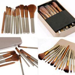 Wholesale Eye Shadow 12 - Professional Makeup Brush Naked 3 12 Pcs set Original Makeup Brushes Kit For Eye Shadow Brushes Blush Brush 2017 Hot Free DHL